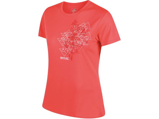 Regatta Fingal III t-shirt Dames oranje